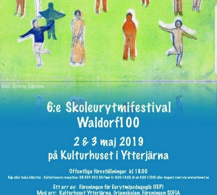 Skoleurytmifestival 2 och 3 maj