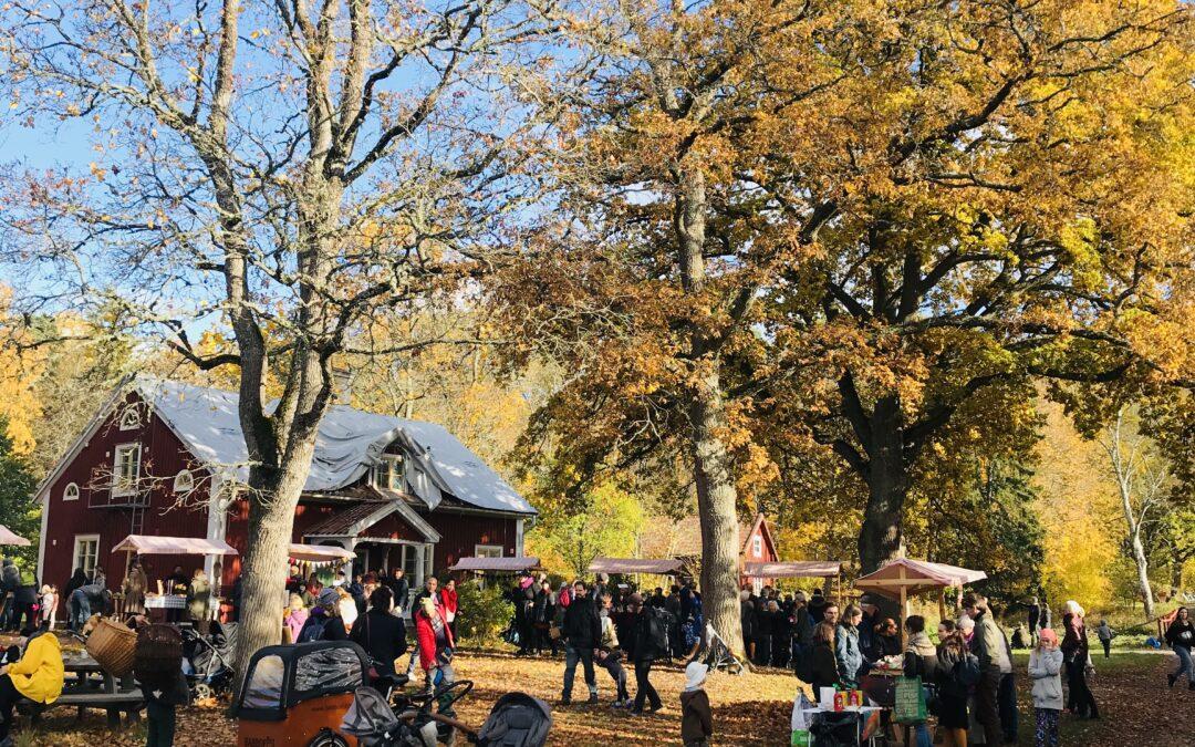 Covidanpassad Höstmarknad lördag den 17 oktober kl. 12-15